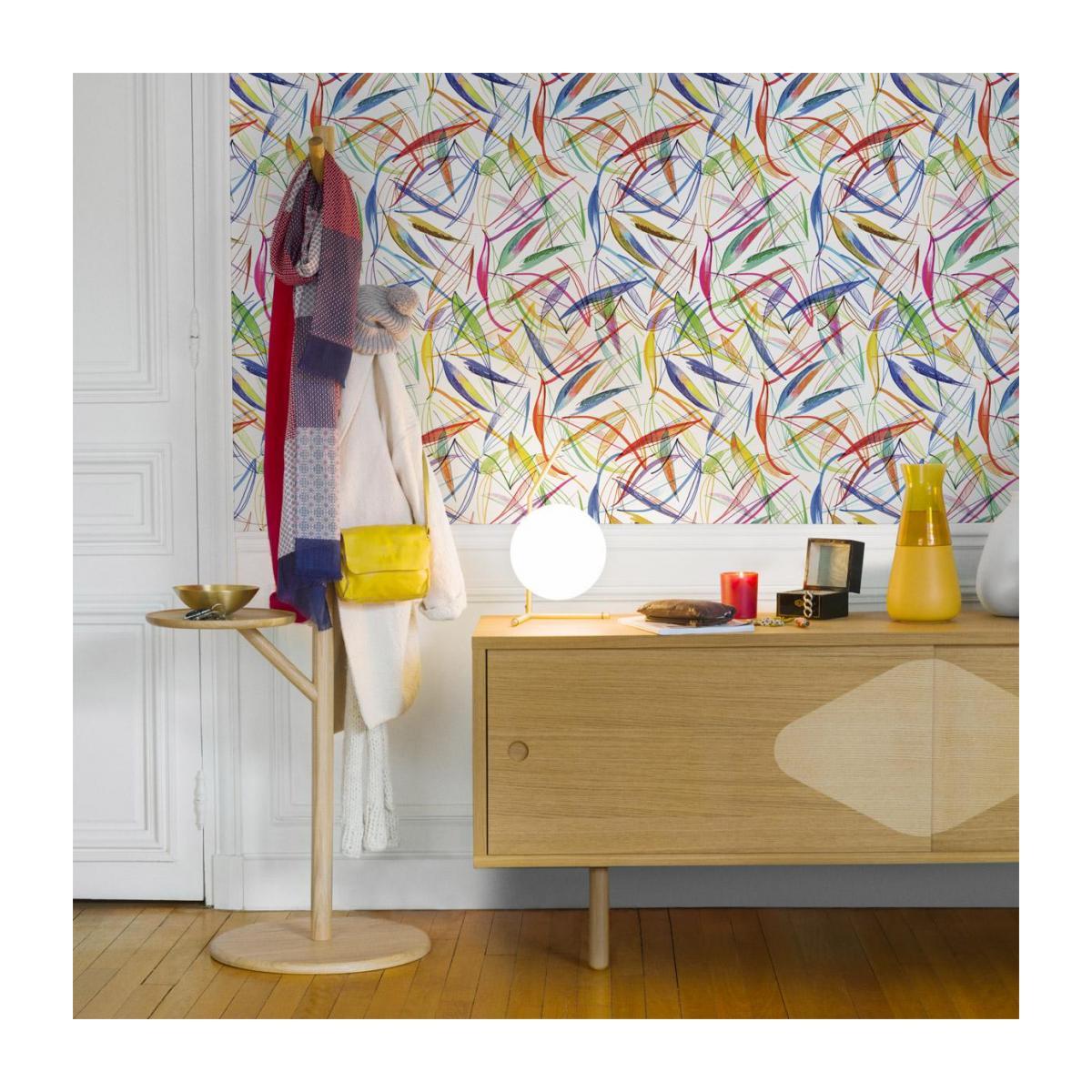 Peinture ou papier peint : À la rentrée, je redonne des couleurs à mon intérieur !