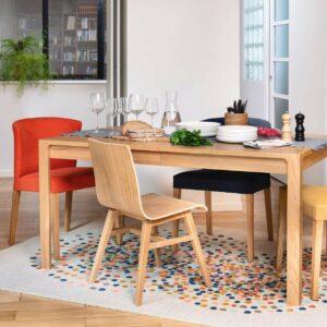 Ivoine table à manger Habitat